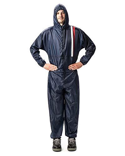 Heimwerker-Produkte Profi Lackieranzug Größe XL Schutzanzug blau Polyester waschbar
