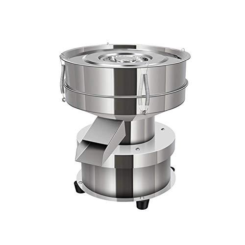 YUCHENGTECH Elektrisches Vibrationssieb Kleines Vibrationssieb Automatischer Pulversieb Edelstahl-Pulver-Siebmaschine für Haushalt/Industrie 1350 U/min 50W (Host, ohne Sieb)