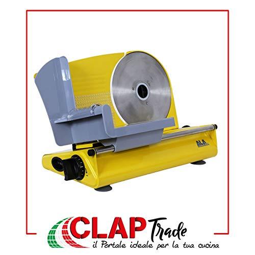 Affettatrice ALA2000 SL520 GIALLA- Con lama estraibile 220 mm, motore 150 W