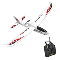 INTEGRATED GYRO EASY TO CONTROL: 6-axis gyro ultra stable self stabilization of gyro system. Powerful over-grade motor system allows easy controlling to do aerobatic flying. BEGINNERS' FIRST RC AIRPLANE TRAINER: 3-level flight control assists (Beginn...