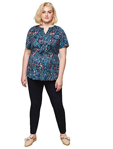 Motherhood Plus Size Secret Fit Belly Skinny Maternity Jeans- Dark