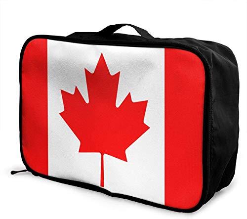 Bolsa de Viaje,Plegable Ligero Bolso Equipaje, American Camo Flag Travel Lightweight Waterproof...