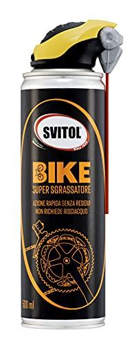 SVITOL Bike Super Sgrassatore 500 ml, detergente bici, pulizia profonda senza acqua, sgrassatore a secco senza risciacquo, ideale sullo sporco più difficile, ideale per e-bike