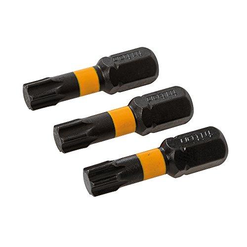 Preisvergleich Produktbild Triton TPTA51836714 T30-Schraubendrehereinsätze,  3er-Pack,  schwarz,  T30 25mm
