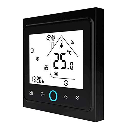 Lydul thermostaat voor thuis, Smart WiFi-thermostaatsensor, temperatuurregelaar, constante temperatuur en luchtvochtigheid, energiebesparende timer thermostaat