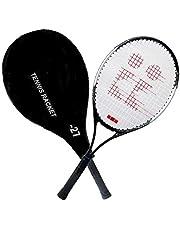Toyshine Power 27 Professional Tennis Racquet, Good Control Grip, Strung with Cover (1 Pc Aluminium Racquet) SSTP