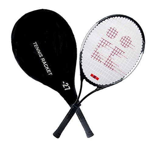 Toyshine Power 27 Professional Tennis Racquet,Good Control Grip,Strung with Cover (Aluminium) (SSTP)