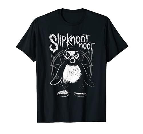 Slipknoot noot Pinguin Heavy-Metal Gothic Hard Rock Geschenk T-Shirt