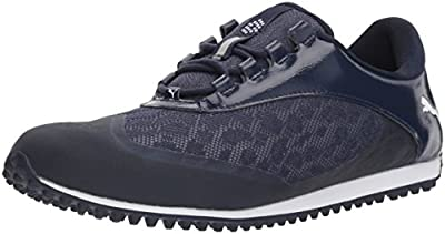 PUMA Golf Women's Summercat Sport Golf Shoe, Peacoat/White, 8 Medium US