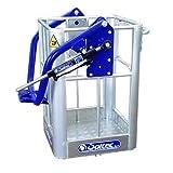 Cesta para grúa para 1 persona 120 kg aluminio 100% italiano