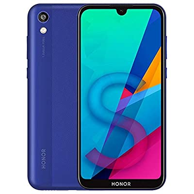 "Honor 8S (32GB, 2GB RAM) 5.71"" HD Display, Dual SIM GSM Factory Unlocked, US & Latin 4G LTE International Model - KSA-LX3 (Blue, 32 GB)"