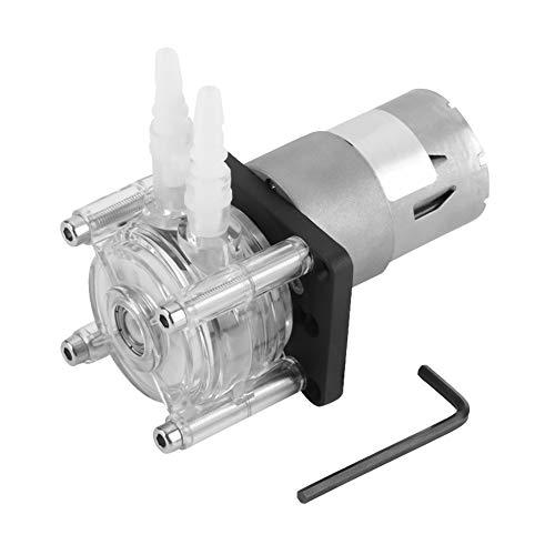 Peristaltikpumpe, DC 12V Peristaltikpumpe Peristaltische Vakuumpumpe mit hohem Durchfluss für analytisches Wasser im Aquariumlabor