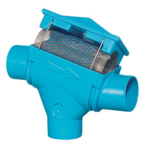 Regenwasserfilter Zisternenfilter 3P Patronenfilter PF mit Edelstahlsieb für den Einbau in die Zisterne, Anschluss DN100, Höhenversatz 66mm. Für die Wassernutzung im Haus und zur Gartenbewässerung.