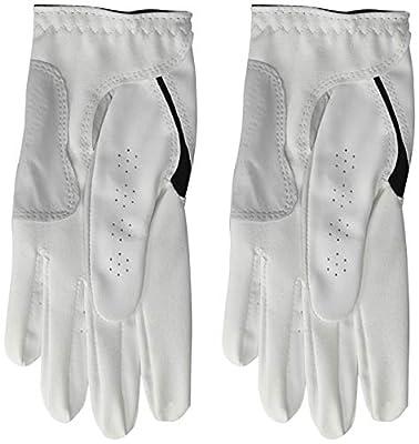 FootJoy Women's WeatherSof Golf Glove, Pack of 2, White Medium/Large, Worn on Left Hand