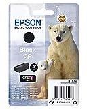 Epson T2601 Cartouche d'encre d'origine 220 pages 6,2 ml Noir Amazon Dash...