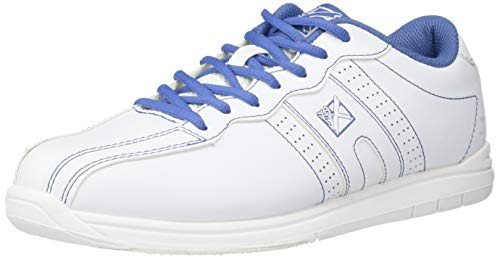 KR Strikeforce Women's O.P.P Bowling Shoes, White/Periwinkle, Size 9.5