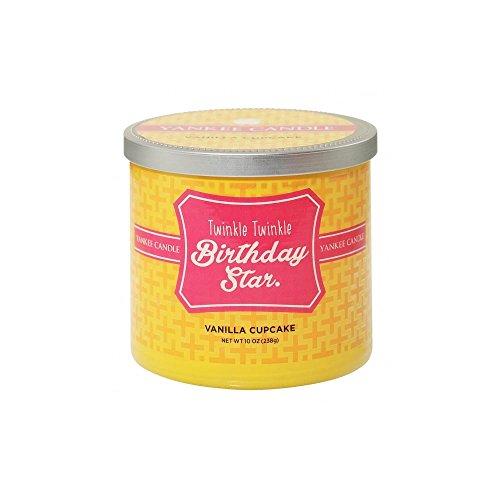 Yankee Candle Sentiments Kaars - Twinkle Twinkle Verjaardag Ster (Vanilla Cupcake)