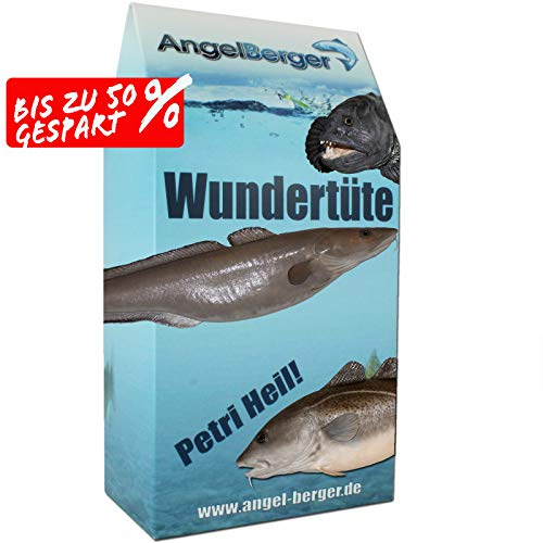 Angel-Berger Meeres Wundertüte Angelset Norwegen Angelzubehör