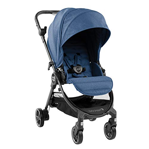 Baby Jogger City Tour LUX Stroller | Compact Travel Stroller | Lightweight Baby Stroller with Backpack-Style Carry Bag, Perfect for Travel, Iris