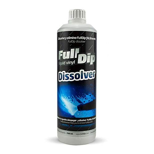 AutoFullCar - Full Dip Dissolver - FullDip Lösungsmittel Plastidip - Flüssigvinylentferner