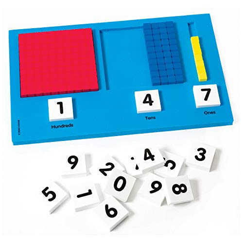 Didax Educational Resources Base Ten Place Value Frame