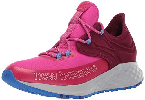 New Balance Fresh Foam Trail Roav V1 Lace-Up Running Shoe, Carnival/Sedona/Vivid Cobalt, 11.5 Wide US Unisex Little_Kid