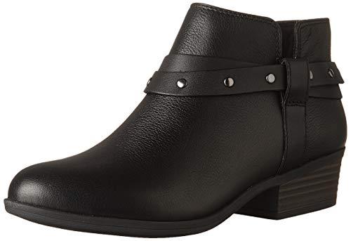 Clarks Dames Addiy Zoie Fashion Boot, Zwart Leer, 2.5 UK