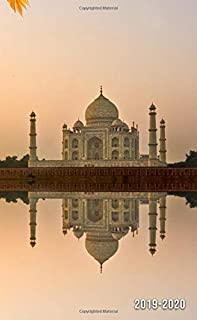 2019-2020: Two-Year Taj Mahal, India Monthly Pocket Planner with Phone Book, Password Log and Notebook. Nifty 24 Month Agenda and Calendar.