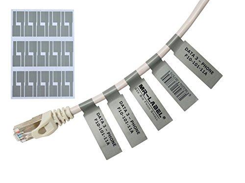 Mr-Label® Autoadhesivo Etiqueta cable - prueba agua