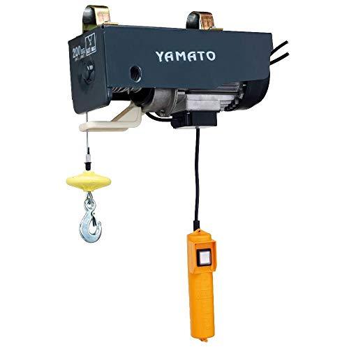 Yamato 7310010 - Polipastos eléctrico, 250 kg, 18 metros