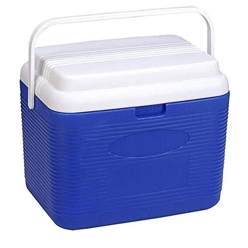 YANGYUAN Vino Cubo Ice Box - Caja portátil de coches de refrigeración Incubadora Caja del refrigerador conservación de alimentos del congelador cubo de hielo que se pueden también utilizar for la pesc