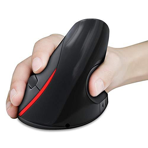 Yi-xir Fashion Design 2.4GHz inalámbrico Recargable Play Play Play Mouse Ergonomic Design 2400DPI Ratones Careful Service