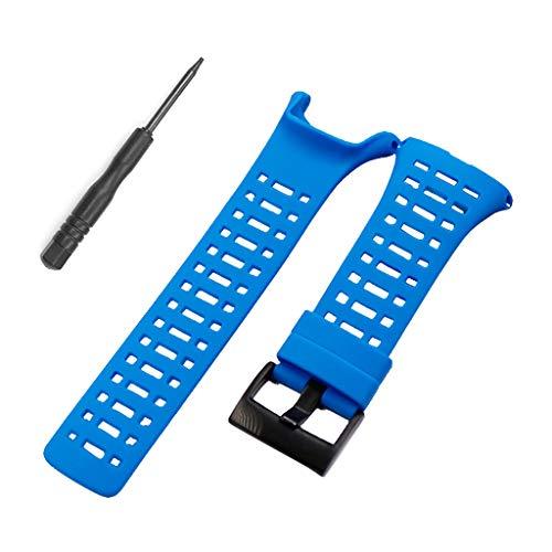qianqian56 correa de silicona suave correa de reloj flexible de repuesto para...
