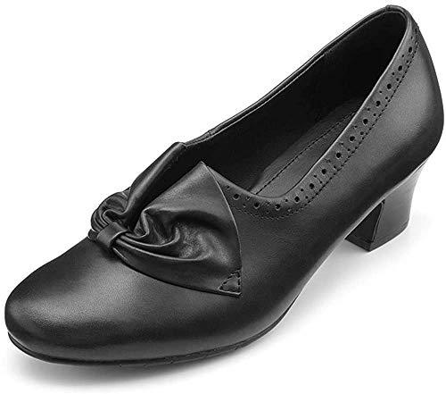 [Hotter] レディース Donna スリッポン フォーマルヒールシューズ US サイズ: 9.5 カラー: ブラック