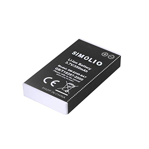 Rechaegeable Li-ion Battery for SIMOLIO Wireless TV Headphones SM-824D...