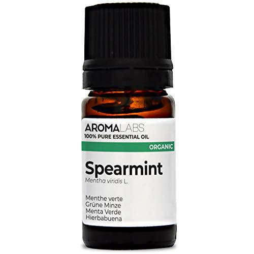 Hierbabuena BIO - 5ml - Aceite esencial 100% natural y BIO - calidad verificada por cromatografía - Aroma Labs