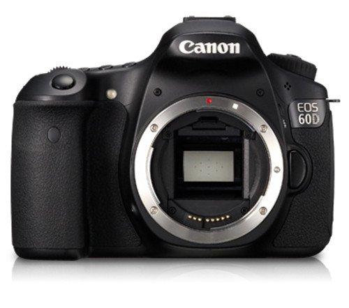 Canon EOS 60D 18 MP CMOS Digital SLR Camera Body Only