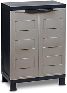 comprar comparacion TOOMAX Mueble, Negro y Gris ceniciento, 204R
