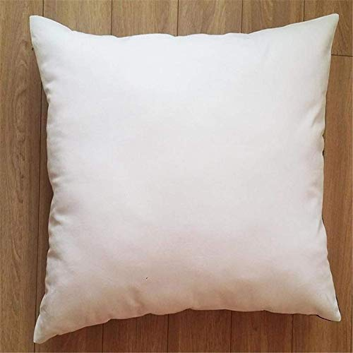 JONJUMP PP algodón no tejido blanco almohada núcleo viaje sueño proporcionar cuerpo coche noches apoyo comodidad almohadas 45x45cm