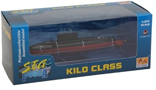 1 350 Plan Kilo Class Submarine by EASY MODELS
