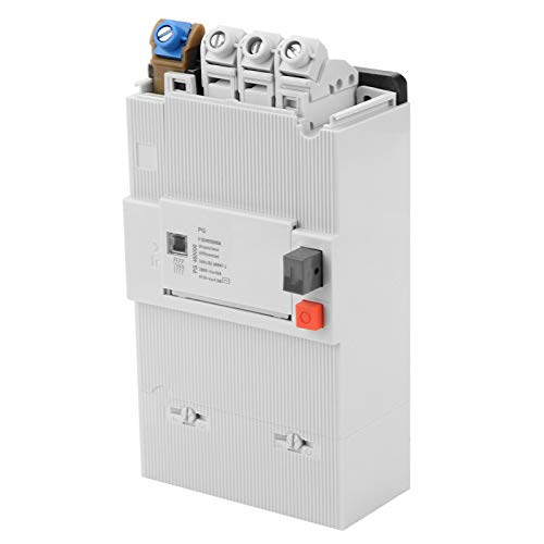 Interruptor de circuito en miniatura de 4 polos con montaje en riel DIN Interruptor de aire de bajo voltaje 30-60 A Caja de plástico PG para sistema de distribución de energía