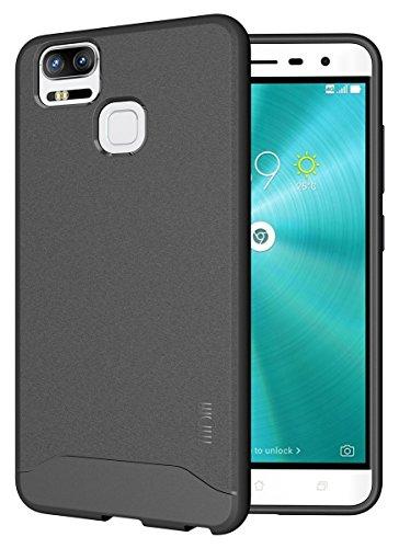 TUDIA Arch TPU Schutzhülle Asus ZenFone 3 Zoom (ZE553KL) Ultra Slim Hülle (Grau)