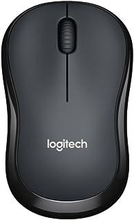 Logitech 罗技 M220无线静音鼠标黑色