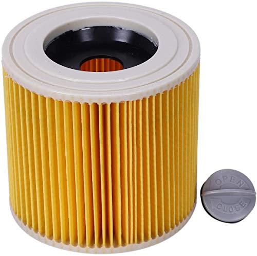Filtro de polvo de aire de repuesto Bolsas para Karcher Aspiradoras piezas cartucho HEPA filtro WD2250 WD3.200 MV2 MV3 WD3 aspirador