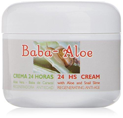 Babaloe 100010 - Crema 24 horas antiedad con baba de caracol y aloe vera
