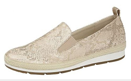 Cipriata - Zapatos Luca para Mujer señora (39 EU) (Piel sintética Dorada Metalizada)