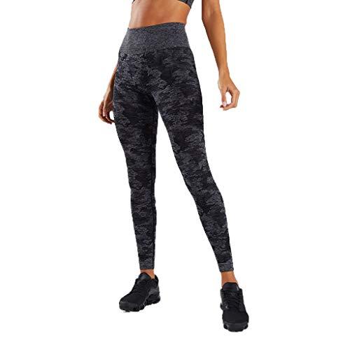 Darringls Pantaloni da Corsa e da Yoga da Donna Leggings Sportivi Donna - Maglia Eleganti Leggings Sport Opaco Yoga Fitness Palestra Pantaloni Leggins Push Up Viola, Verde, Nero