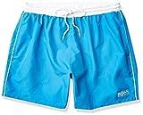 Hugo Boss BOSS Men's Swim Trunks, Sky Blue, L