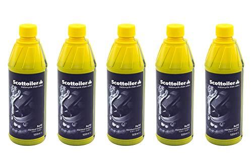Kettenöl Scottoiler 5 Stück á 500 ml