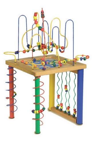 Circuit de motricité et table d'activité pour enfants